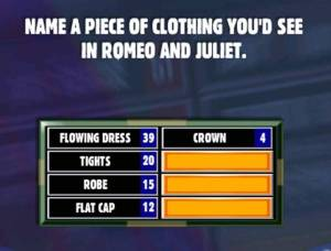 Romeo and juliet family feud
