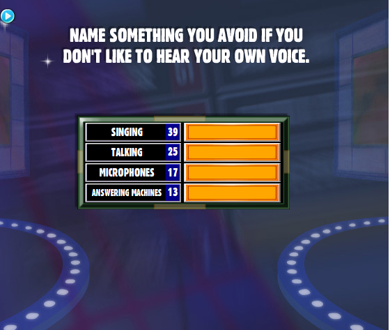 Name Something You Avoid If You Don't Like To Hear Your ...