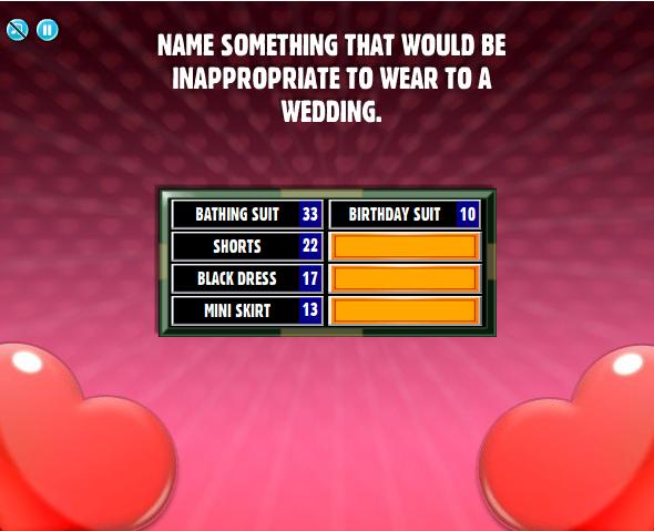 list of all family feud questions and answers