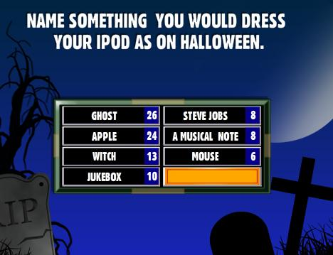 Name Something You Would Dress Your iPod As On Halloween. - Family ...
