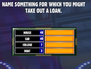 Name Something For Which You Might Take Out A Loan