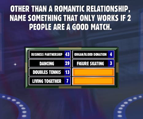 Name something a good relationship has