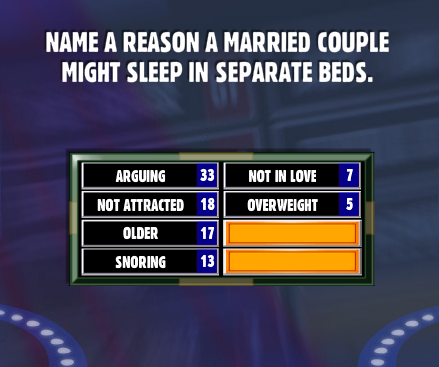 Name A Reason A Married Couple Might Sleep In Separate Beds. Name A Reason A Married Couple Might Sleep In Separate Beds