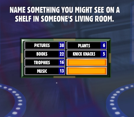 Name something you might see on a shelf in someone 39 s for Something living room 94
