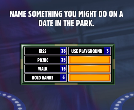 Name something you might do on a date