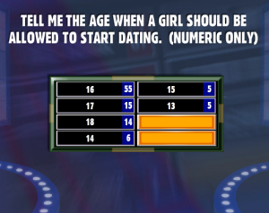 Ideal age to start dating