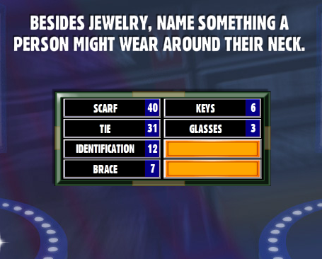 Besides jewelry name something