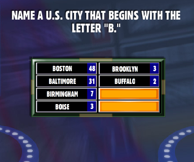 Name A U.S. City That Begins With The Letter