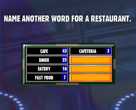 word for restaurant