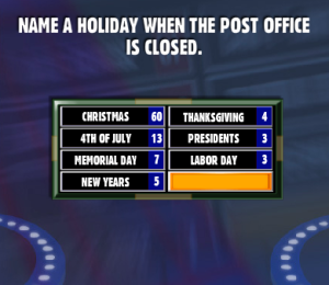 how to play family feud in the office